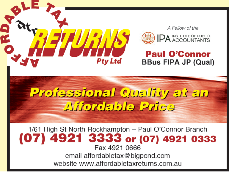 Affordable Tax Returns