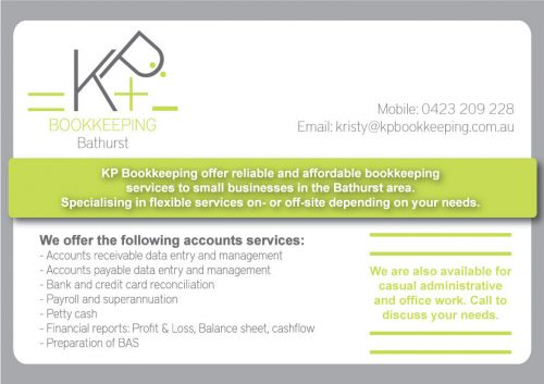 KP Bookkeeping - Townsville Accountants