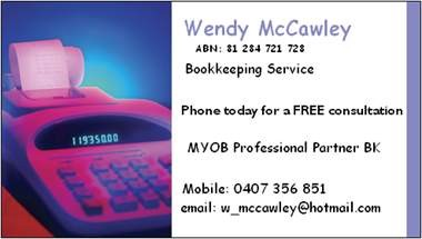 Wendy Mccawley - Townsville Accountants