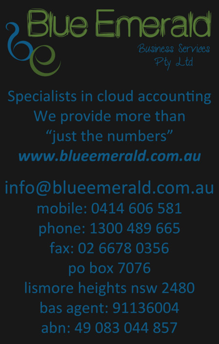 Blue Emerald - Townsville Accountants