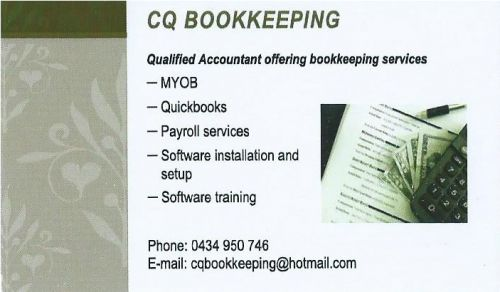 CQ Bookkeeping - Townsville Accountants